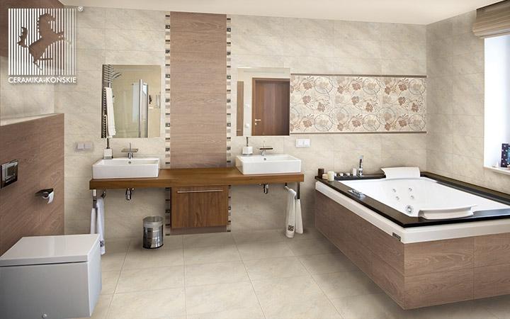 Płytki do łazienki - kolekcja Varna