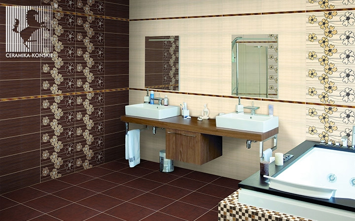 Płytki do łazienki Ceramika Końskie